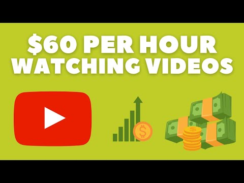 Get Paid $60 per HOUR by Watching Videos (Make Money Online)