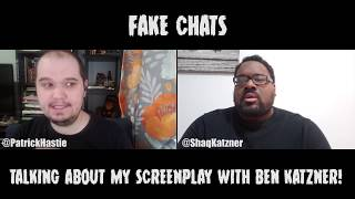 Comedians Talking Screenplays | Fake Chats | Ben Katzner