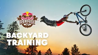 Andreu Lacondeguy Builds The Perfect Rampage Training Compound | Laconyard 2019