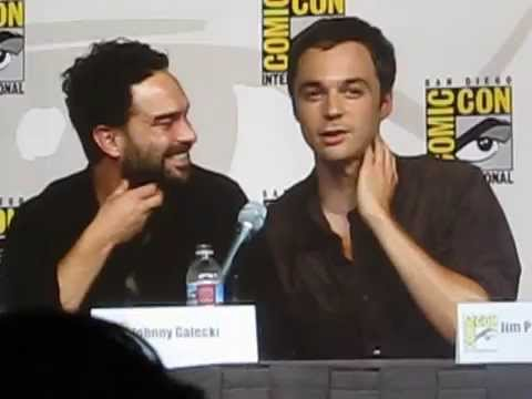 Con 2009 tv guide panel jim parsons and johnny galecki youtube