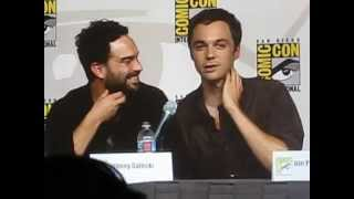 Comic Con 2009 TV Guide Panel - Jim Parsons and Johnny Galecki