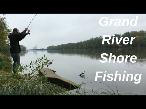 Grand River Shore  Fishing