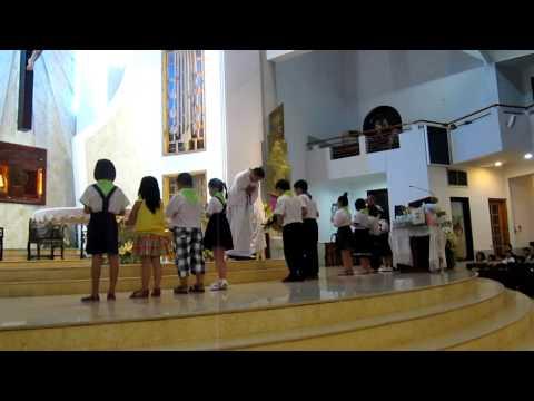 Dang Le Vat o Nha Tho Tan Chau-Dau Nam 2012