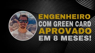 ENGENHEIRO TEVE EB2/GREEN CARD APROVADO EM APENAS 8 MESES!