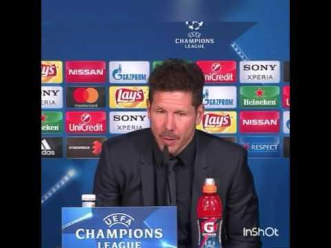 Las palabras del Cholo Simeone tras caer 3-0 con el Real Madrid en Champions 2017