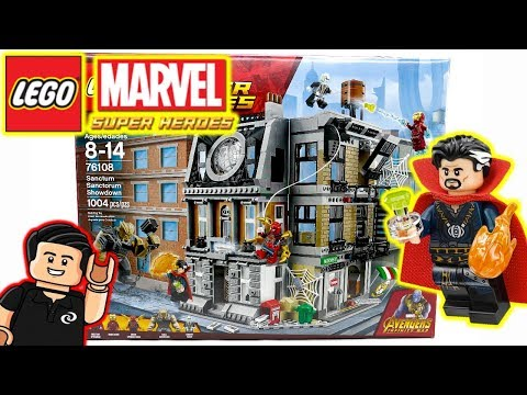 LEGO Marvel SANCTA SANCTORUM SHOWDOWN Set 76108 Infinity Wars