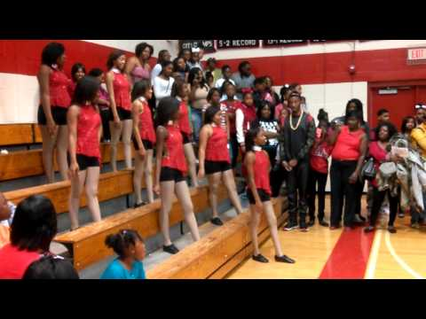 Eddy vs. Rothschild Middle School Dance Team Battle