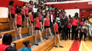 eddy vs rothschild middle school dance team battle