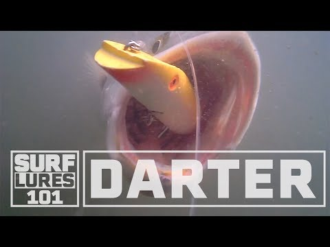 Learn About The Darter With Zeno Hromin. A Deadly Night Time Surf Fishing Lure.