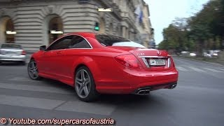 Crazy Arab Mercedes CL63 AMG in Vienna