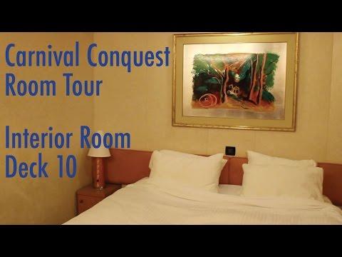 Carnival Conquest Interior Room Tour 2016