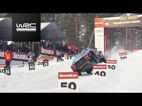WRC - Rally Sweden 2018: Power Stage Highlights