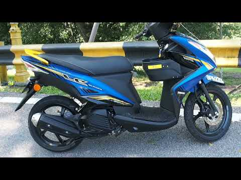 YAMAHA EGO LC 125 (BLUE YELLOW)