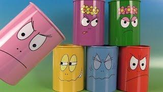 Barbapapa Jouet « Chamboule Tout » Œufs Surprise Sachets Tin Can Alley Game Zootopie Disney Pixar