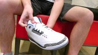 """Air Jordan III Retro """"True Blue"""" Review at Exit 36"""