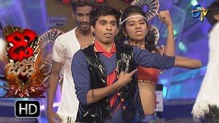 Piyush and Ankitha Performance – Dhee Jodi - 14th September 2016– ETV Telugu