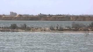 قناة السويس الجديدة: فيديو حصرى  للقناتين ومرورسفينة