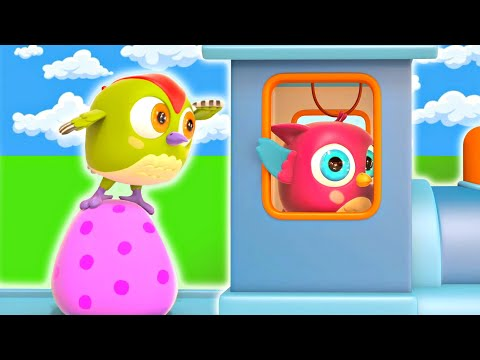 Развивающие детские песни Совенок ХопХоп - Мультики для малышей