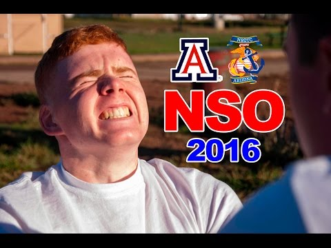 University of Arizona NROTC -- New Student Orientation 2016