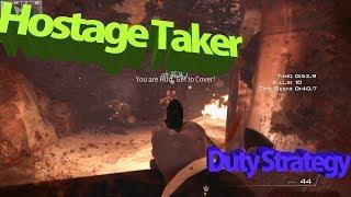Call of Duty:Modern Warfare 3:Duty strategy in Hostage Taker