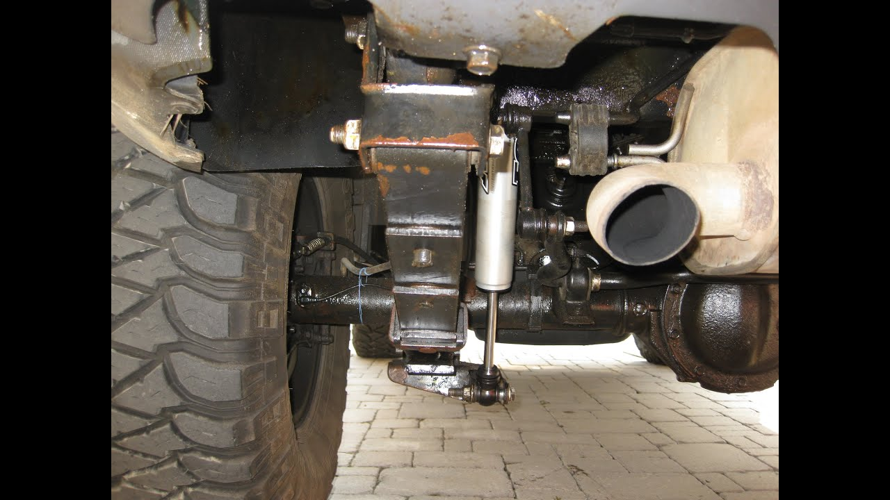 How to Replace Install Rear Shocks on Hummer H3 FOX SHOCKS 2 0