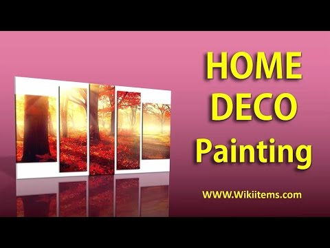 Living Room Decorating Ideas , Home Decorating with wall painting 1