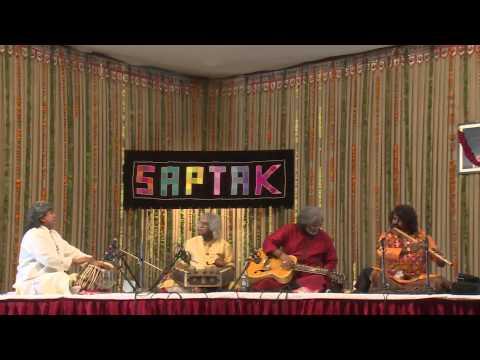 Saptak Annual Music Festival - 2015 : ( Vishwa Mohan & Tarun Bhattacharya & Pravin Golkhindi )