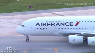 Airbus A380 en Cancun, Mexico - El avión de pasajeros más grande del mundo