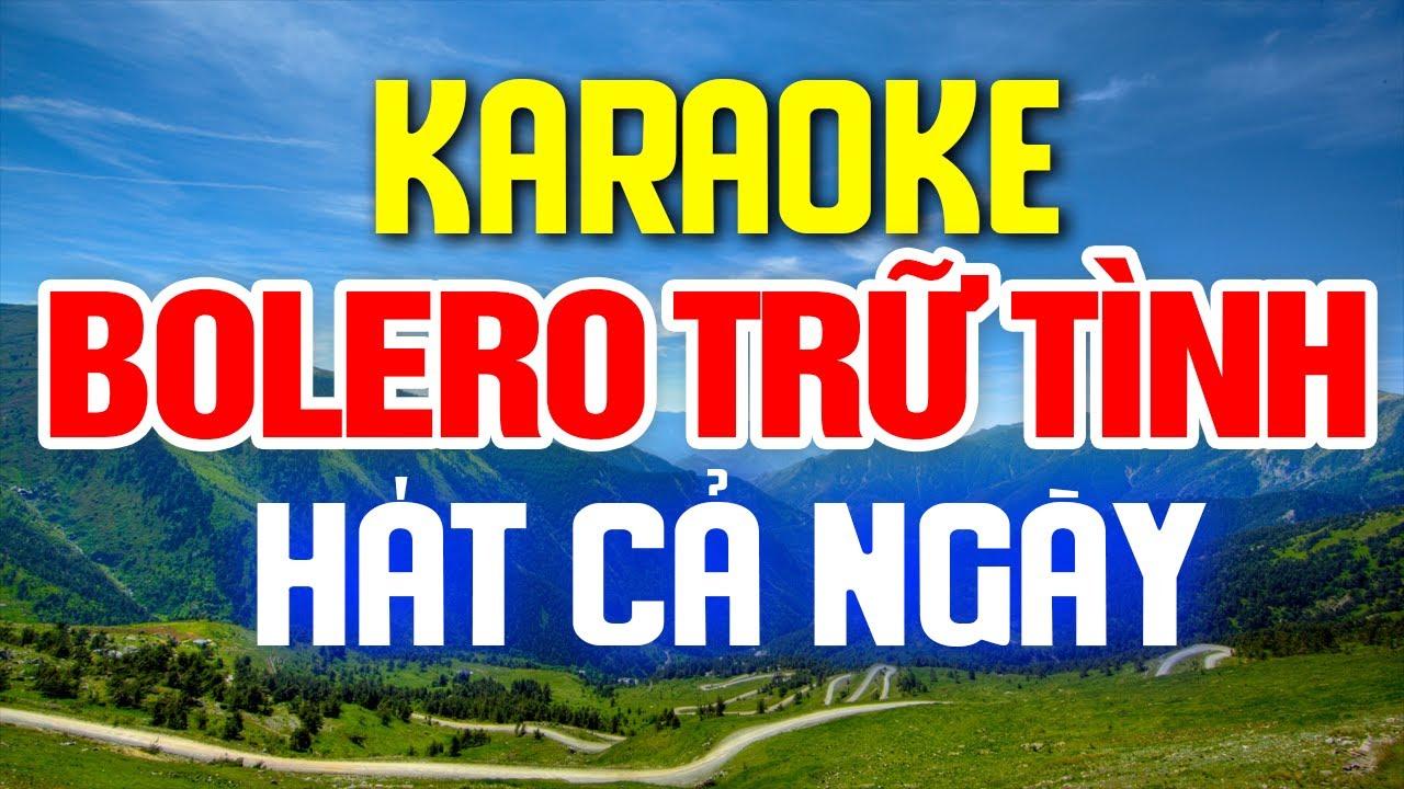 KARAOKE Liên Khúc Nhạc Vàng - Bolero - Sến Karaoke Hay Nhất - Nhạc Sống Karaoke