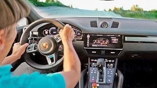 Awesome POV in the 680HP Porsche Cayenne Turbo S E-Hybrid – ASPHALT + GRAVEL
