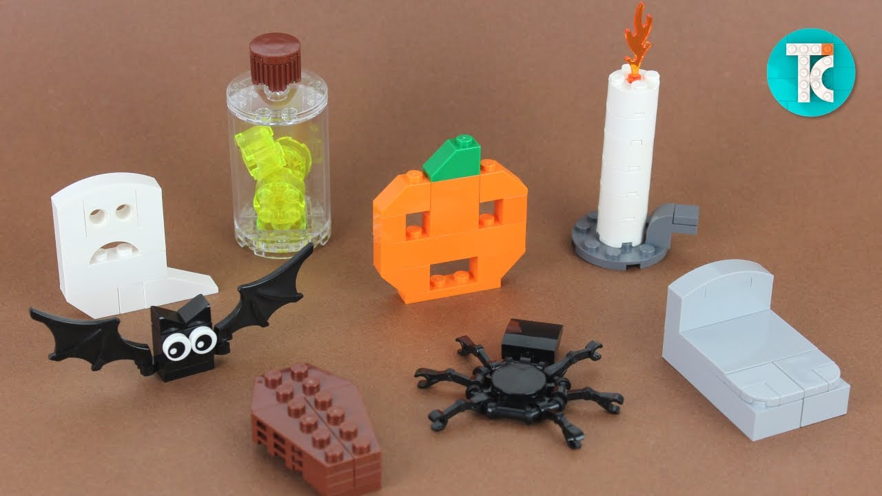 LEGO Halloween Decorations (Tutorial)