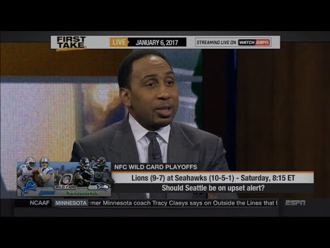 Stephen A. Smith Disses the Detroit Lions Chances of Upsetting the Seahawks