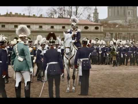 Kaiser Wilhelm II in color