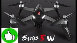 Классный квадрокоптер за 139$ с GPS и FPV MJX Bugs 5W | Распаковка и облёт