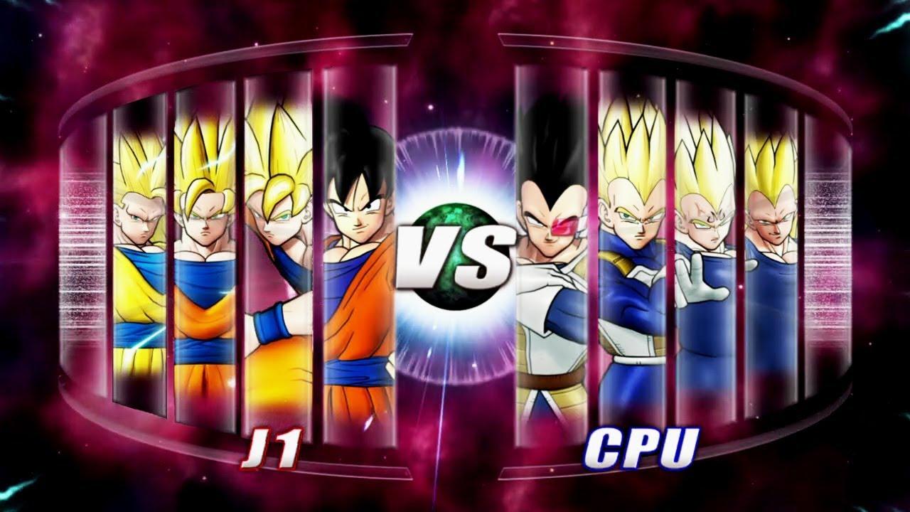 Dragon Ball: Raging Blast 2 Goku vs Vegeta
