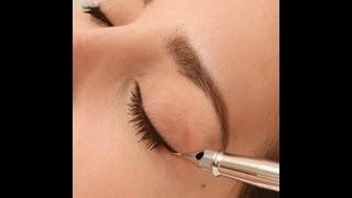 видео Как правильно делать перманентный макияж бровей