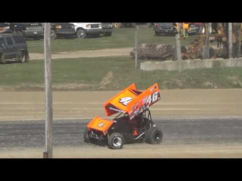 30. Sprints, Crystal Motor Speedway for Test and Tune, 2017