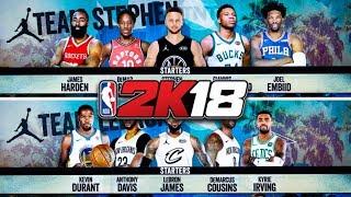 2018 NBA ALL STAR GAME IN NBA2K18!
