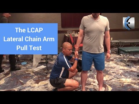 LCAP   Lateral Chain Arm Pull Test