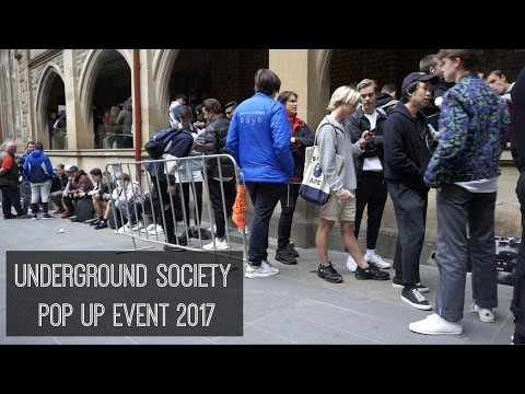 UNDEGROUND SOCIETY EVENT 2017