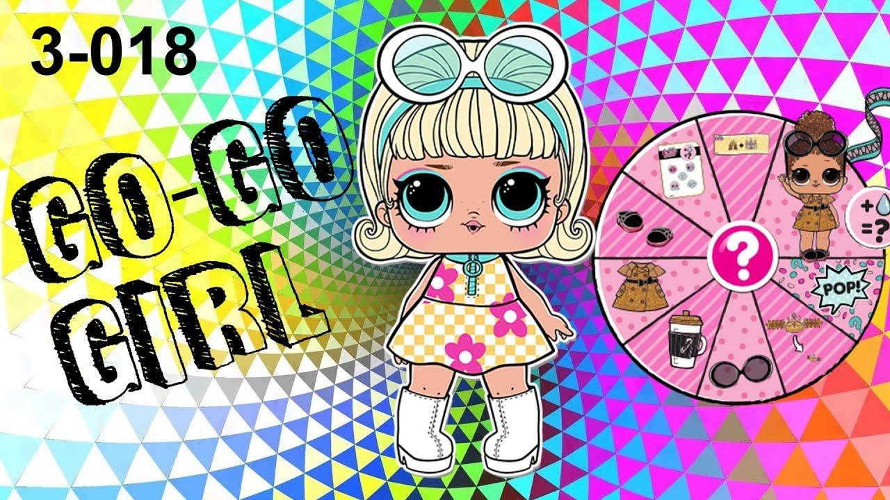 Unboxing Lol Surprise Confetti Pop Series 3 Go Go Girl