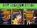 Crit Assassin Cross Update 2.0: 100k Crit - 200k Crit with Slash no FiB
