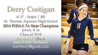Derry Costigan - 2014 High School Volleyball Highlights