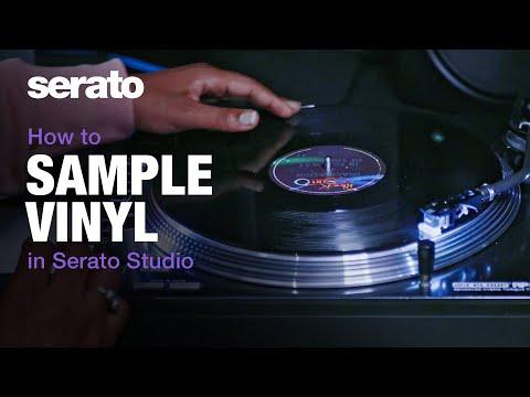 How to sample vinyl in Serato Studio
