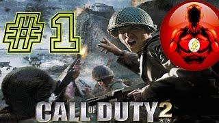 Прохождение Игры Call of Duty 2 - Часть 1: С Трени на Войну? Это нормально!