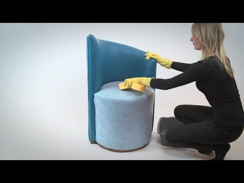 Cleaning Vinyl Fabric used in upholstery