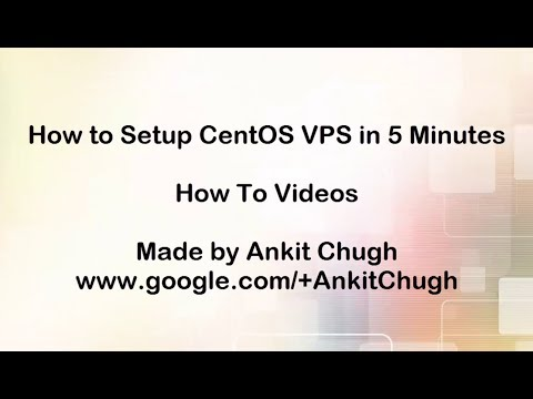 How to Setup CentOS 6 Web Server VPS in 5 minutes