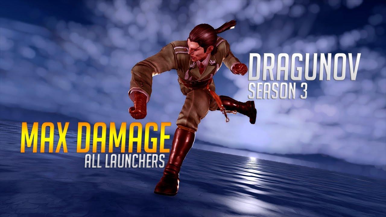 Dragunov Max Damage Combos (Season 3)