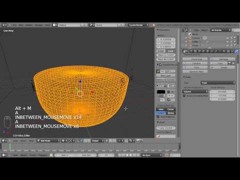 Shattering a Coffee Cup - Part 03 - Fluid Simulation