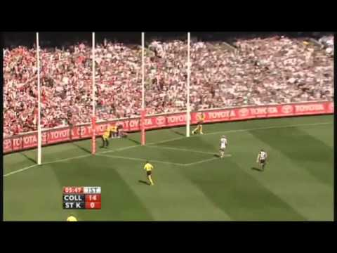 Nick Riewoldt Fails Grand Final 2010